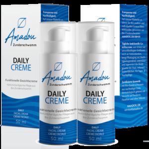 Amadou Daily Creme im Doppelpack